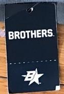 Brothers standard B star tag