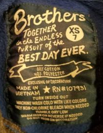File:Brothers together script tag style label (size 7).png