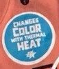 Brothers Changes color with thermal heat label (blue)