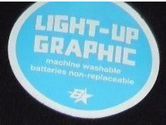 Brothers Light-up graphic label
