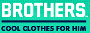 Brothers cool clothes for him logo