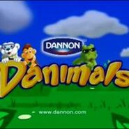 Danimals PBS funding credit (with characters)