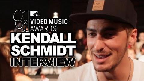 Kendall Schmidt Talks New Big Time Rush Album & Tour - 2013 MTV Video Music Awards