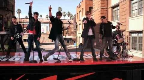 """Big Time Rush """"Paralyzed"""" Music Video (Episode Clip)"""