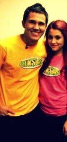 Ariana with carlos