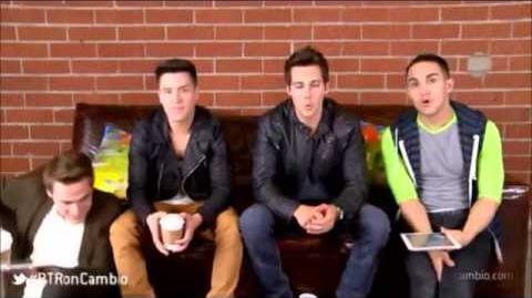 Live chat Big Time Rush en Cambio (Subtitulado)