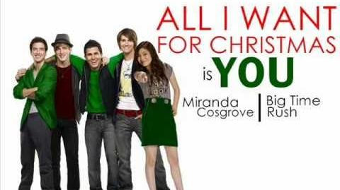 All I want for Christmas is you-Big Time Rush ft