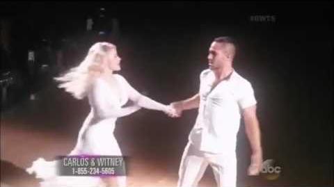 Carlos PenaVega & Witney Carson - Viennese waltz - DWTS Week 4