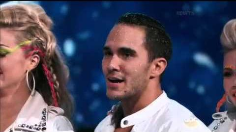 Alek Skarlatos & Lindsey Arnold & Carlos PenaVega & Witney Carson-Paso Doble Duet (Season 21 Week 9)-0