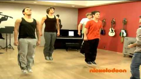Big Time Rush Behind The Scenes~Just Dance