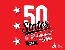 50States13ColoniesRideLogo