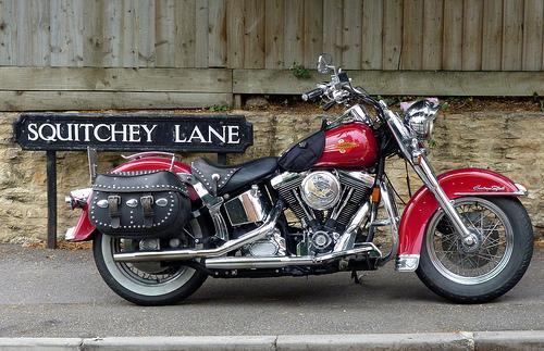 File:Past and Present Softail Harley Davidson.jpg