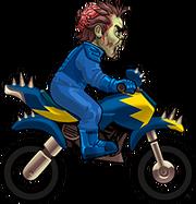 3 C A bike