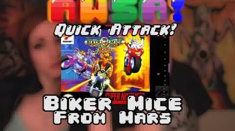 AWSA! SNES Biker Mice from Mars Quick Attack Review-0