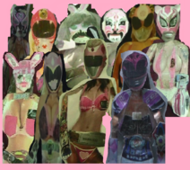 Pink Bikni Ranger Collection