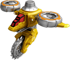 Yellow Dial Fighter Attack Mode