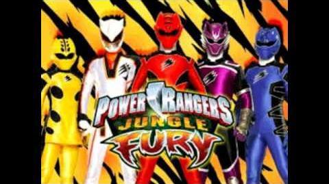 Power Rangers Jungle Fury (theme song)