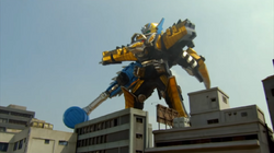Ptera Charge Megazord Anklyo Formation