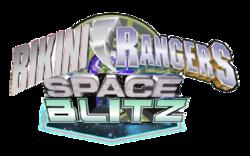 Bikini Rangers Space Blitz logo