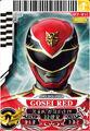 Gosei Red card