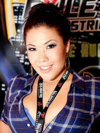 London Keyes at the AVN Expo 2012