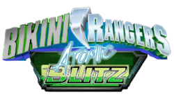 Bikini Rangers Atomic Blitz Logo
