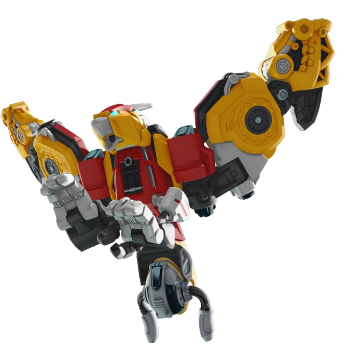 METALIONS THUNDER GUARDIAN Giant-elk Argentavis Mammoth Transformer Robot Toy