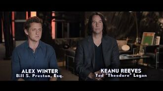 BILL & TED FACE THE MUSIC Behind the Scenes - Be Excellent To Each Other