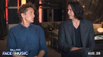 BILL & TED FACE THE MUSIC Behind the Scenes - A Most Triumphant Duo-0