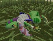 Era gecko defeated