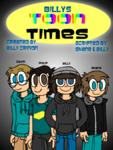 Billys Toon Times 2014 cover