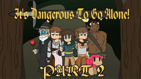 Billys Toon Times - It's Dangerous To Go Alone! Part 2