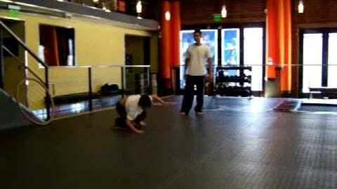 Billy Unger - Stunt Training for Upcoming Film