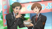 Chopstick guy and chikuwabu guy binan