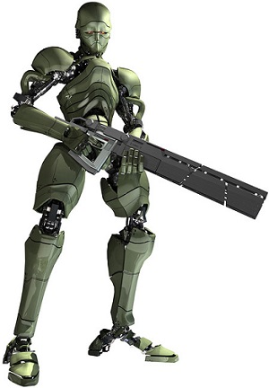 Binary Domain - Assault Shooter