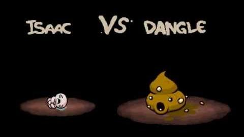 "The Binding of Isaac Afterbirth ""Dangle"" boss fight"