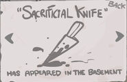 Sacrificial Knife