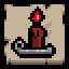 Achievement red candle