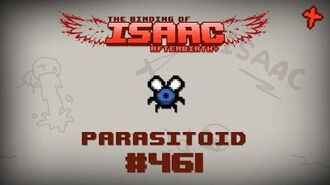 Binding of Isaac Afterbirth Item guide - Parasitoid-0