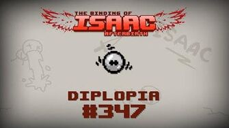 Binding of Isaac Afterbirth Item guide - Diplopia