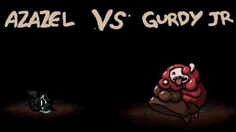 The Binding of Isaac - All Bosses - Gurdy Jr
