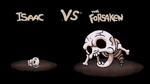 """The Binding of Isaac Afterbirth """"The Forsaken"""" boss fight"""
