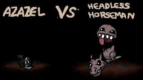 The Binding of Isaac - All Bosses - Headless Horseman Айзек - Все Боссы - Безголовый всадник