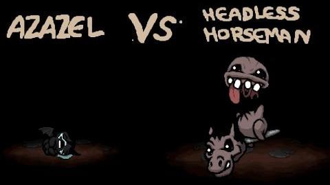 The Binding of Isaac - All Bosses - Headless Horseman Айзек - Все Боссы - Безголовый всадник