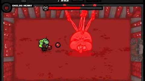 The Binding of Isaac Wrath of the Lamb Bosses Daddy Long Legs (Blind)