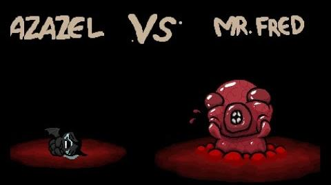 """The Binding of Isaac Rebirth """"Mr. Fred"""" boss"""