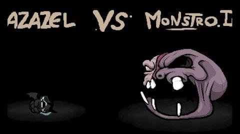 "The Binding of Isaac Rebirth ""Monstro II"" boss"