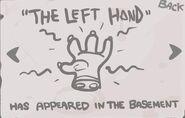 The Left Hand Geheimnis