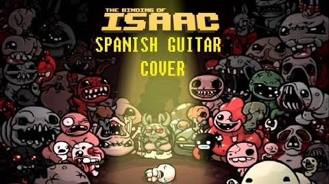 The binding of Isaac MEDLEY SPANISH GUITAR COVER