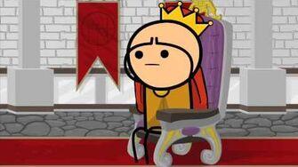 Шоу Цианид и Счастье Король Хлопает
